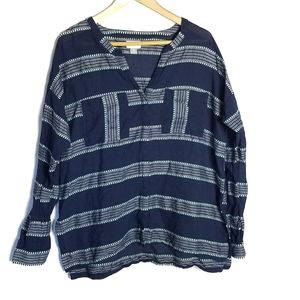 5/$25 Old Navy long sleeve top size large